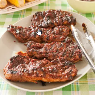St Louis Bbq Pork Steaks From America S Test Kitchen The Yorkes Family